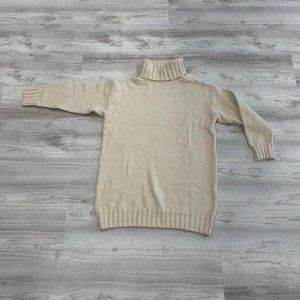 Sweater Dress Turtleneck